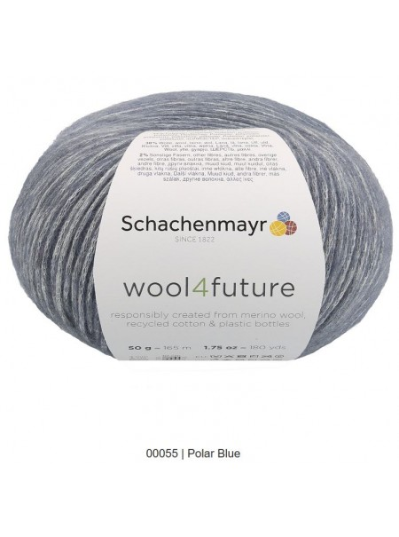 Wool 4future Gris anthracite col 00098
