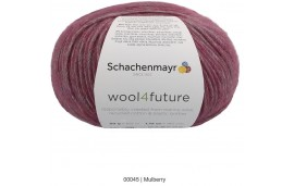Wool 4future Violet mûre col 00045