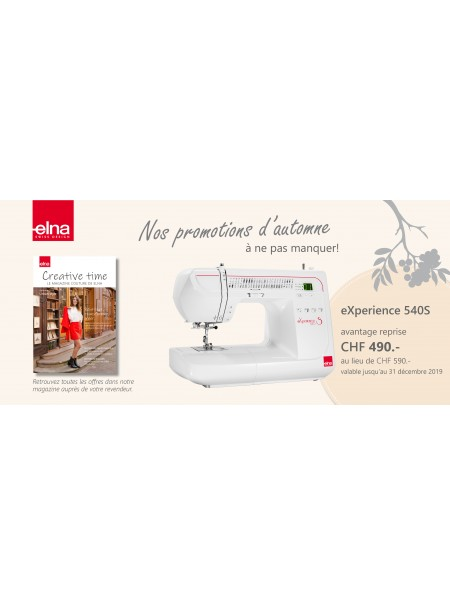 Elna eXperience 540S PROMOTION