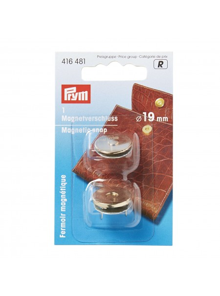 Bouton magnétique Prym 19mm or 416 481