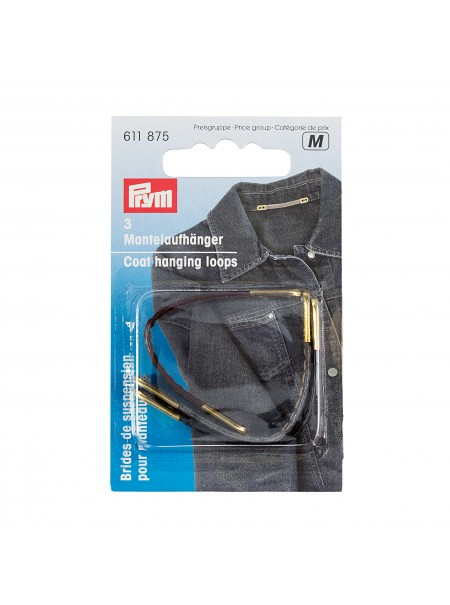 Brides de suspension pour manteau Prym 611 875 (M)