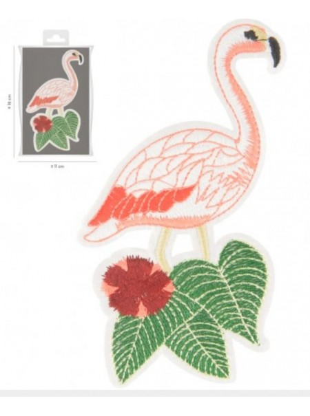 Patchs thermocollant flamant rose