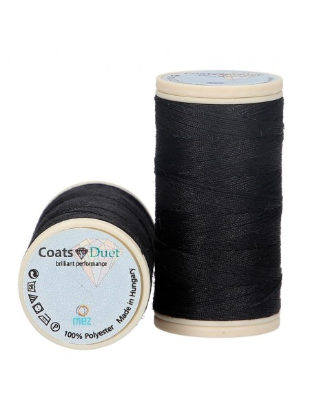Fils coats polyester 100m col 1000