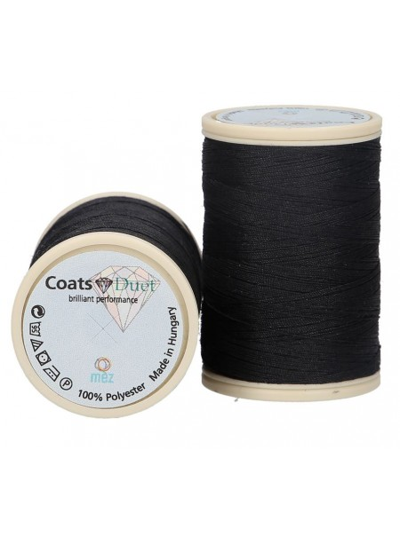Fil coats polyester 500m col 1000