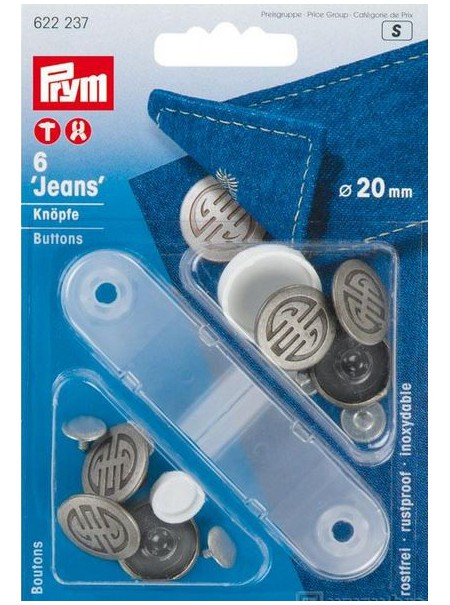 Boutons Jeans Prym 622237 (S)