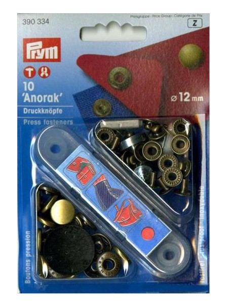 Boutons Pression Prym 390336 (AA)