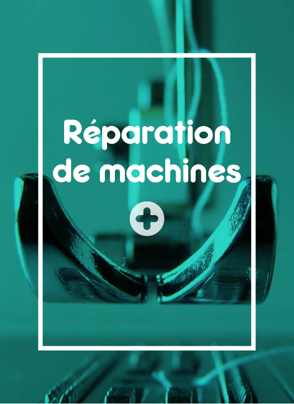 Services - réparation de machine
